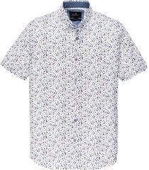 korte mouwen overhemd vanaguard witte print