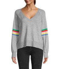 hazel rainbow stripe sweater