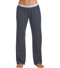 tommy hilfiger women's logo pajama pants, online only