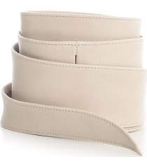 federica tosi leather belt