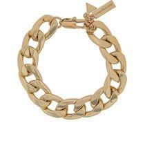 coup de coeur chunky chain bracelet - gold