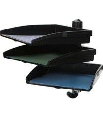 mind reader platform swivel 360 degree documents tray