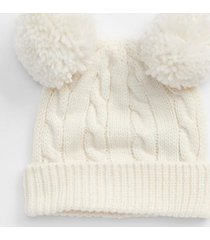 gorro toddler girls blanco gap