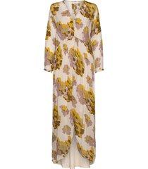 dafna maxiklänning festklänning gul rabens sal r