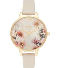 olivia burton women's blush vegan strap watch 34mm