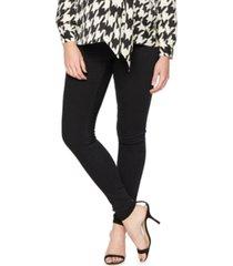luxe essentials denim maternity stretch skinny pants
