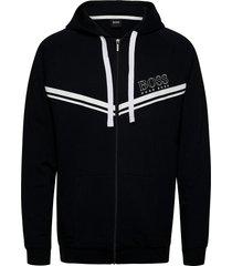 authentic jacket h hoodie svart boss