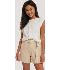 mango shorts - beige