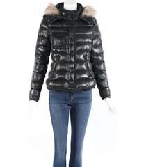 moncler armoise fur hooded puffer coat