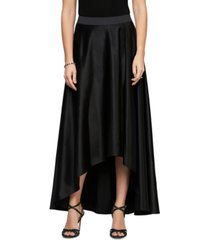 alex evenings petite tulip-hem long skirt