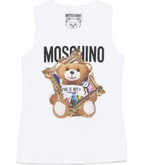 moschino teddy cornice destroyed top