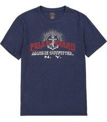 camiseta newport navy polo ralph lauren mc c/r diseño ancla