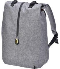 mochila con cremallera impermeable con magnetismo xiaomi - gris