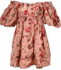 zimmermann cassia mini dress