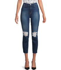l'agence women's high-rise slim-fit distressed jeans - arcadia - size 25 (2)