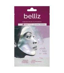 belliz máscara facial 1 unidade - iluminadora