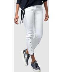 jeans alba moda wit