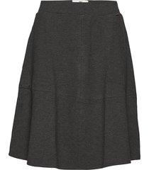 helen jersey skirt knälång kjol grå lexington clothing