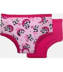 kit desfralde eco&play panda rosa