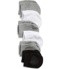 women's nordstrom 6-pack mule socks, size 9/11 - none