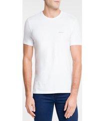 camiseta calvin klein basic branco