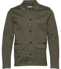 slhjake jacket w overshirt groen selected homme