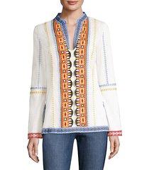 stephanie cotton tunic