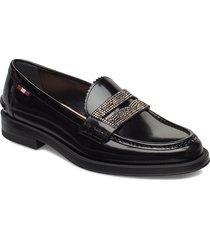 eloy flat-studs/100 loafers låga skor svart bally