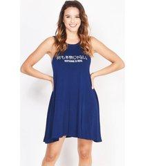 vestido azul verónica nothing real
