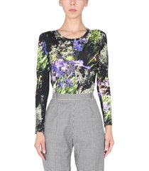 ps by paul smith agapanthus print t-shirt