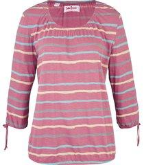 tunica in maglina di cotone fantasia (viola) - john baner jeanswear