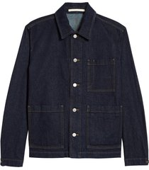 men's norse projects tyge denim button-up shirt