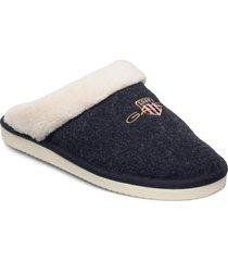 coseny homeslipper slippers tofflor blå gant