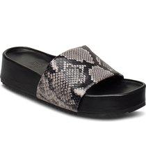 split sandals shoes summer shoes flat sandals grå twist & tango