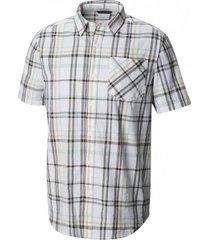 camisa m/c katchor ii short sleeve shirt café columbia