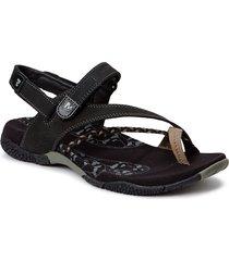 siena seagrass shoes summer shoes flat sandals svart merrell