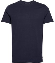 ricky organic cotton tee t-shirts short-sleeved blå lexington clothing