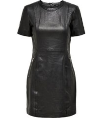 jurk leather