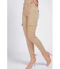 spodnie cargo fason skinny