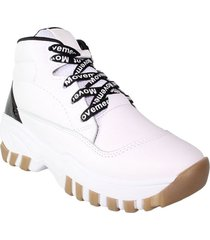 tenis blanco wanted bota 708