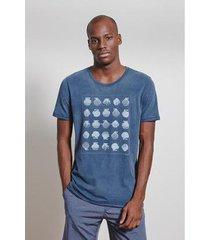 t-shirt conchas masculina - masculino