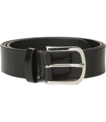 orciani bright classic patent leather belt