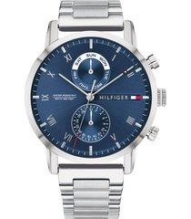 reloj tommy hilfiger 1710401 plateado acero inoxidable