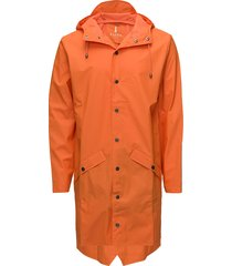 long jacket regenkleding oranje rains