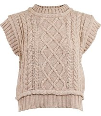 malley cable knit vest overdeler