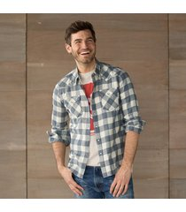 levis barstow shirt dk gry