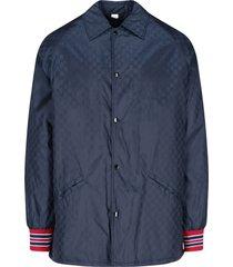 gg supreme pattern jacket