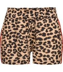 shorts con bande laterali (marrone) - rainbow