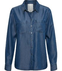 denim hunter blouse blauw
