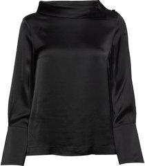 isobel blouse blouse lange mouwen zwart morris lady